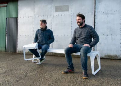 Acà allà – new bench for public spaces
